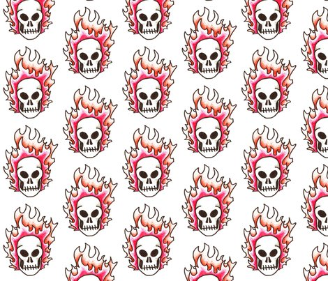 Rflaming_skull_clipart_shop_preview