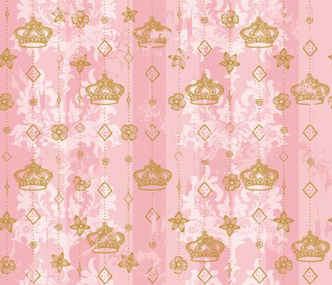 Powder Room Royale fabric by cynthiafrenette on Spoonflower - custom fabric