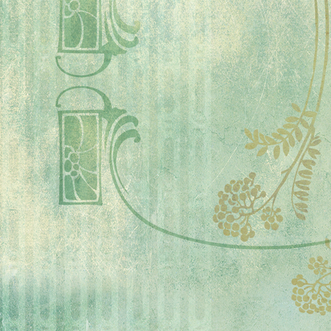 Victorian Rustic Variation - Ice fabric by mudstuffing on Spoonflower - custom fabric