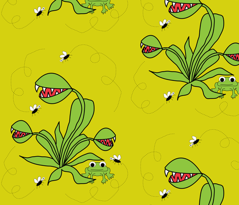 Savage_Beauty fabric by the_design_house on Spoonflower - custom fabric