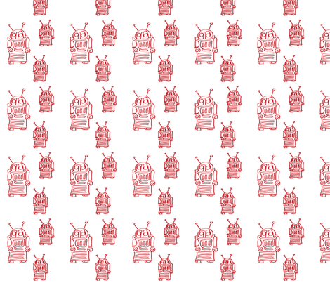 They Are Coming fabric by sophie_greenfield on Spoonflower - custom fabric