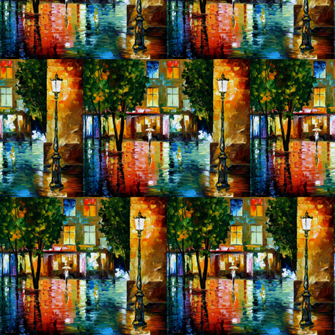 City Magic fabric by afremov_designs on Spoonflower - custom fabric