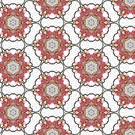 Marble flowers fabric by vib on Spoonflower - custom fabric