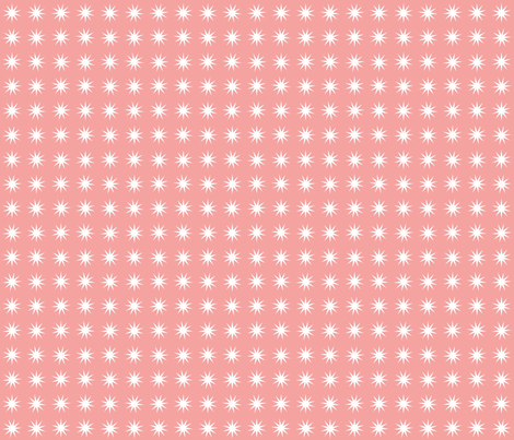 Wow Pow Pink fabric by featheredneststudio on Spoonflower - custom fabric
