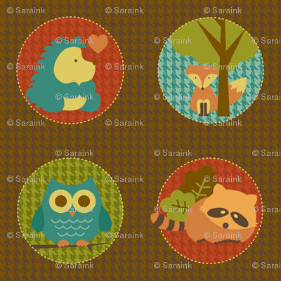 Cuddly Woodland Circles