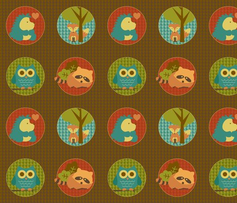 Rrwoodland_circles_9x9_shop_preview