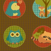 Rrwoodland_circles_9x9_shop_thumb