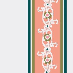 paradise rococo /ornate stripe