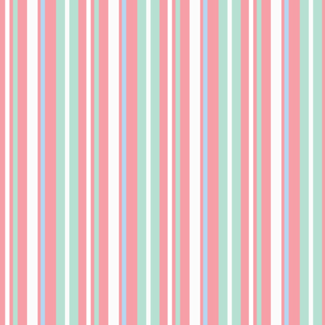 Whoo Stripe Coordinate fabric by saraink on Spoonflower - custom fabric