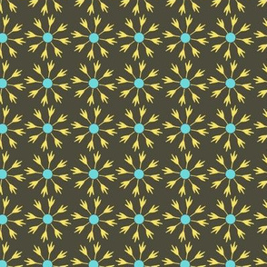 black starburst