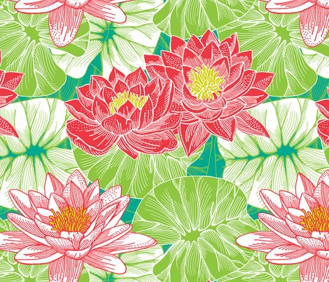 Rfunky_lilies_spoon_16inch_tile_copy_shop_preview