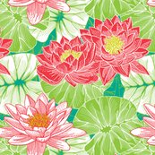 Rfunky_lilies_spoon_16inch_tile_copy_shop_thumb