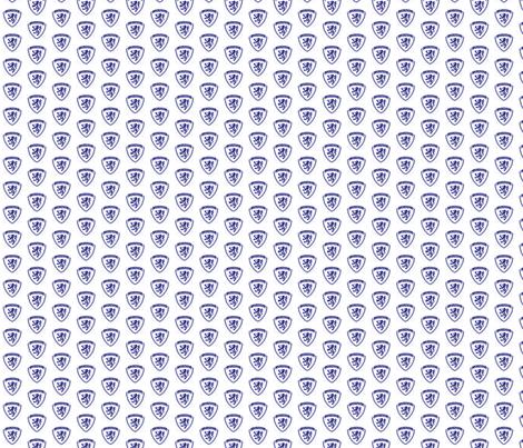 LourdesBlueCrest fabric by lourdeslady on Spoonflower - custom fabric
