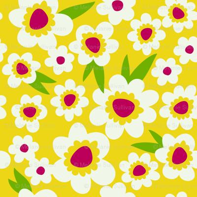 Daisy Pop Yellow