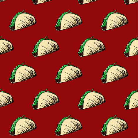 Taco II fabric by pond_ripple on Spoonflower - custom fabric