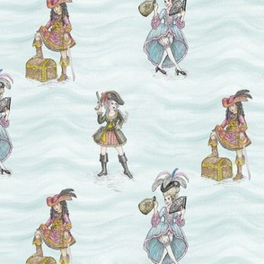 RoCoco Chanel Presents: Fashionable Pirate Girls