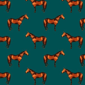 Thoroughbred Teal