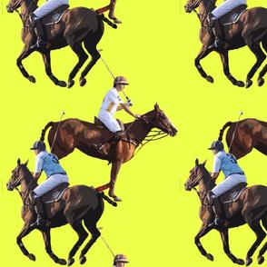 Carriage Trade Polo Melee Chrome