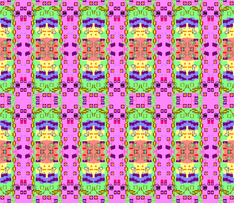 Mommies-to-Be at a Whimsical Playground fabric by robin_rice on Spoonflower - custom fabric