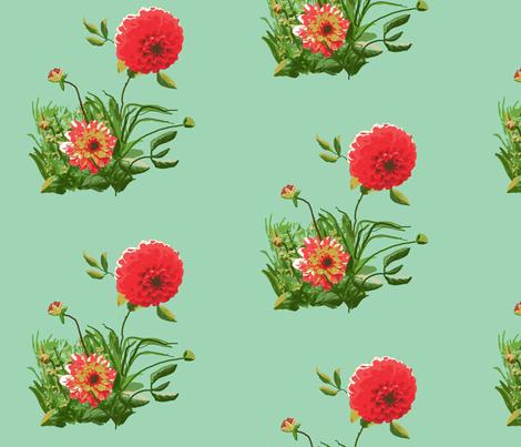 dahlia_A_edit_1b_Picnik_collage-ch fabric by khowardquilts on Spoonflower - custom fabric