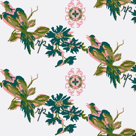 Paradise rococo fabric by paragonstudios on Spoonflower - custom fabric