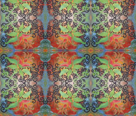 Flora Emerging fabric by ann_viveros on Spoonflower - custom fabric