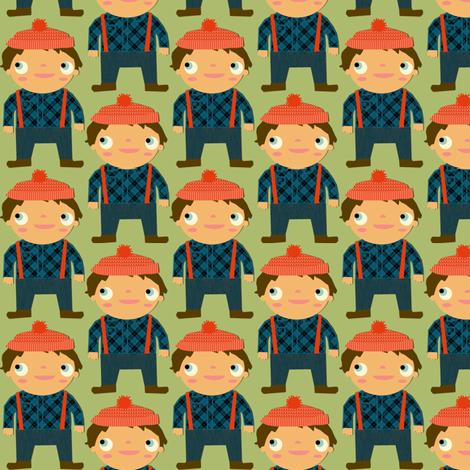 lumberjack fabric by heidikenney on Spoonflower - custom fabric