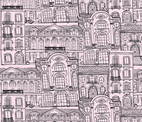 Rococo Toile fabric by asilo on Spoonflower - custom fabric