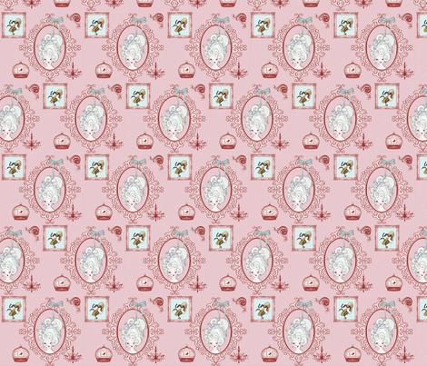 Ou_la_la fabric by hushaby&quirks on Spoonflower - custom fabric