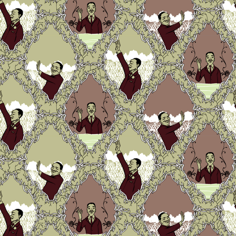 Have a Dream fabric by jadegordon on Spoonflower - custom fabric