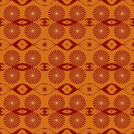 Spindle_Wheel-ch fabric by knita on Spoonflower - custom fabric