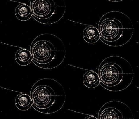 Bubble Chamber Physics fabric by emilyinorbit on Spoonflower - custom fabric