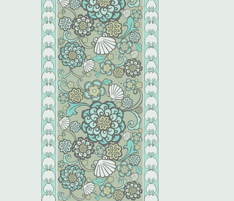 rococoFloral-ch fabric by flock on Spoonflower - custom fabric