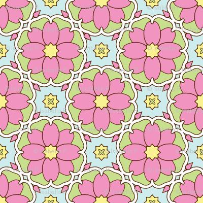 Flowers on the Vine - Honeysuckle