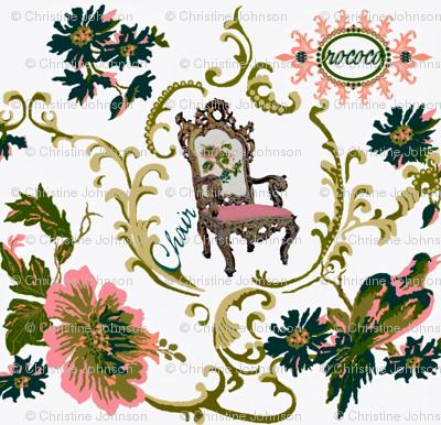 Paradise rococo / chair