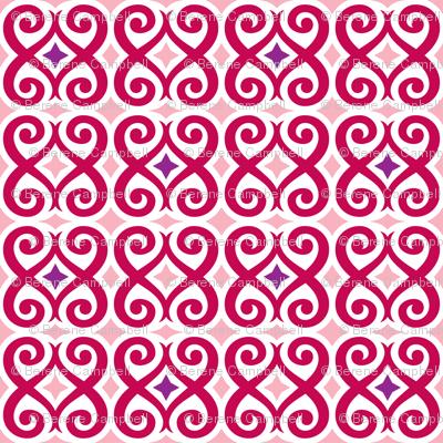Rococo Love (Red)