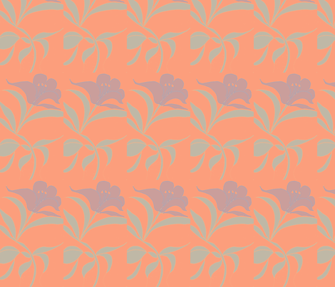 Flower2 fabric by lauriem9@yahoo_com on Spoonflower - custom fabric