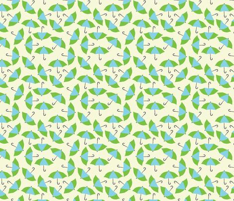 umbrellas fabric by lighthearts on Spoonflower - custom fabric