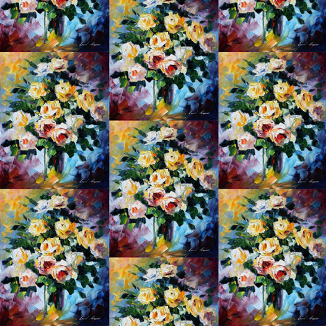 Peace fabric by afremov_designs on Spoonflower - custom fabric