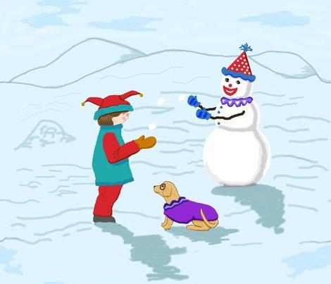 Rclowns_boy__snowman_and_dog_revise_colors_plus_6_off_shop_preview