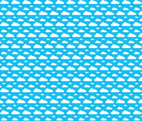 cloud three fabric by zubunt on Spoonflower - custom fabric
