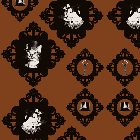 Abigail and Oswin Part 2 fabric by rayne on Spoonflower - custom fabric