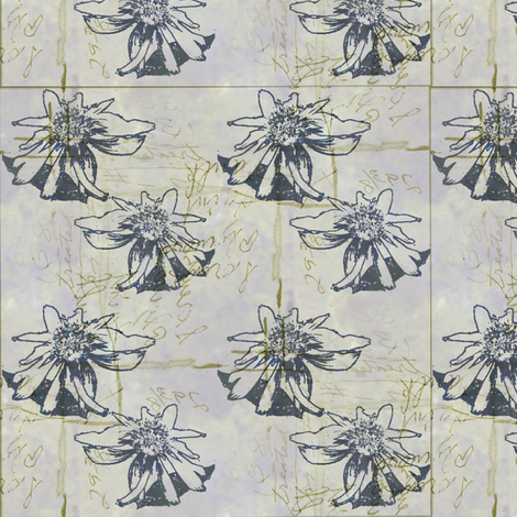 Pressed Flowers fabric by donna_kallner on Spoonflower - custom fabric