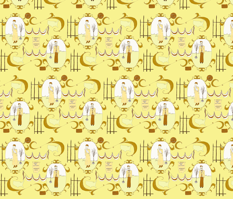 Votes for Women fabric by sparegus on Spoonflower - custom fabric