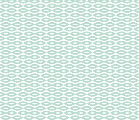Ripples - Aqua (large print) fabric by happysewlucky on Spoonflower - custom fabric