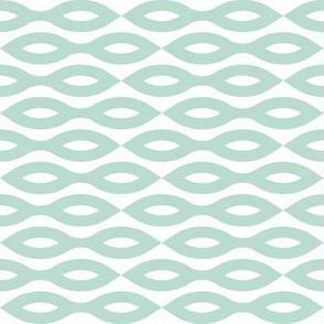 Ripples - Aqua (large print)