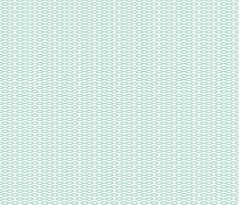 Ripples - Aqua (Small print) fabric by happysewlucky on Spoonflower - custom fabric