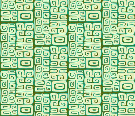 Absractiva, Matuku, tidepool fabric by sophista-tiki_by_dawn_frasier on Spoonflower - custom fabric