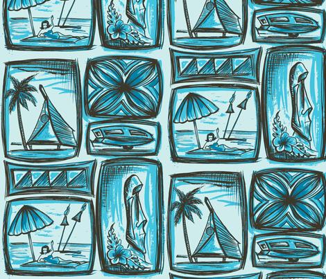 MO_Fabrics_day seabreese blu fabric by sophista-tiki_by_dawn_frasier on Spoonflower - custom fabric