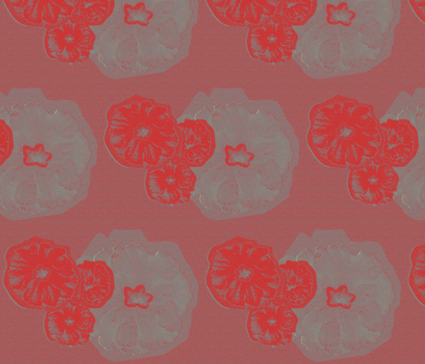 Flowers Pink fabric by dolphinandcondor on Spoonflower - custom fabric